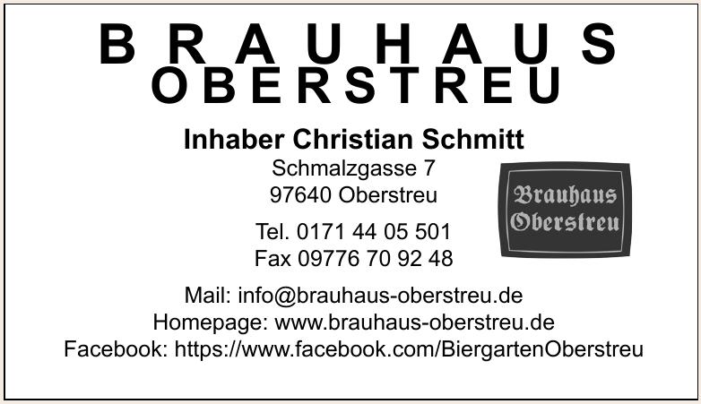 Brauhaus Oberstreu