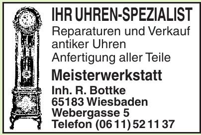 Meisterwerkstatt Inh. R. Bottke
