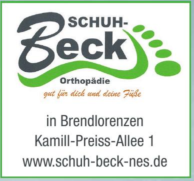 Schuh-Beck Orthopädie