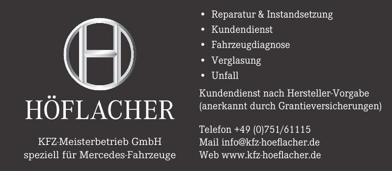 Höflacher KFZ-Meisterbetrieb GmbH