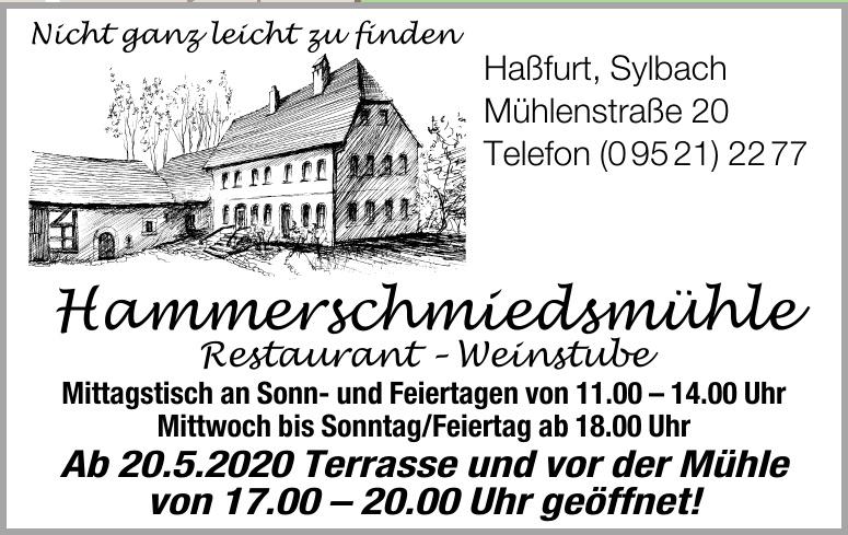 Hammerschmiedsmühle Restaurant – Weinstube