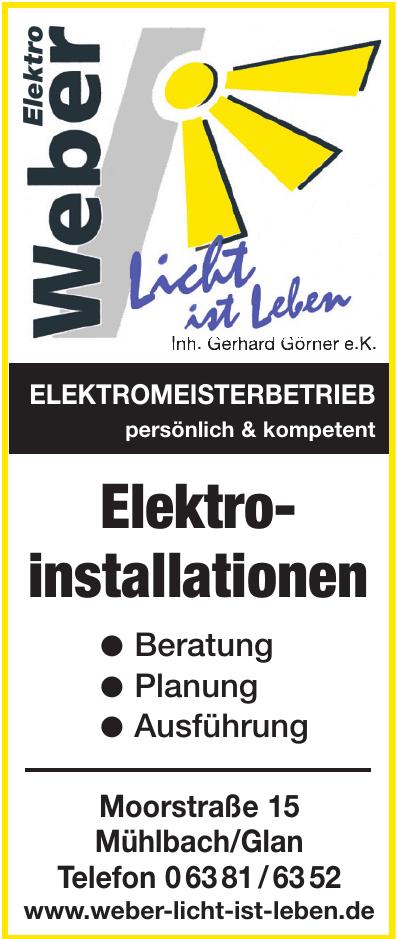 Elektro Weber