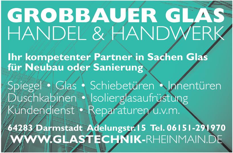 Grobbauer Glas Handel & Handwerk