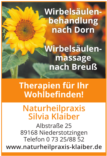 Naturheilpraxis Silvia Klaiber
