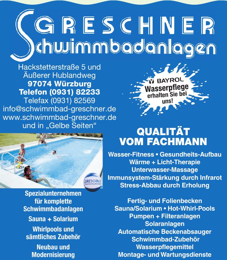 Greschner Schwimmbadanlagen