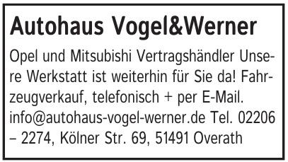 Autohaus Vogel & Werner GmbH