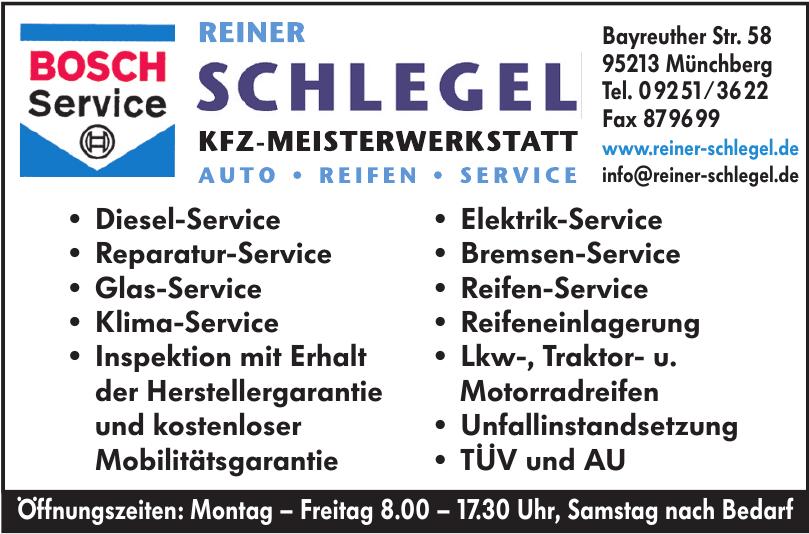 Reiner Schlegel KFZ-Meisterwerkstatt