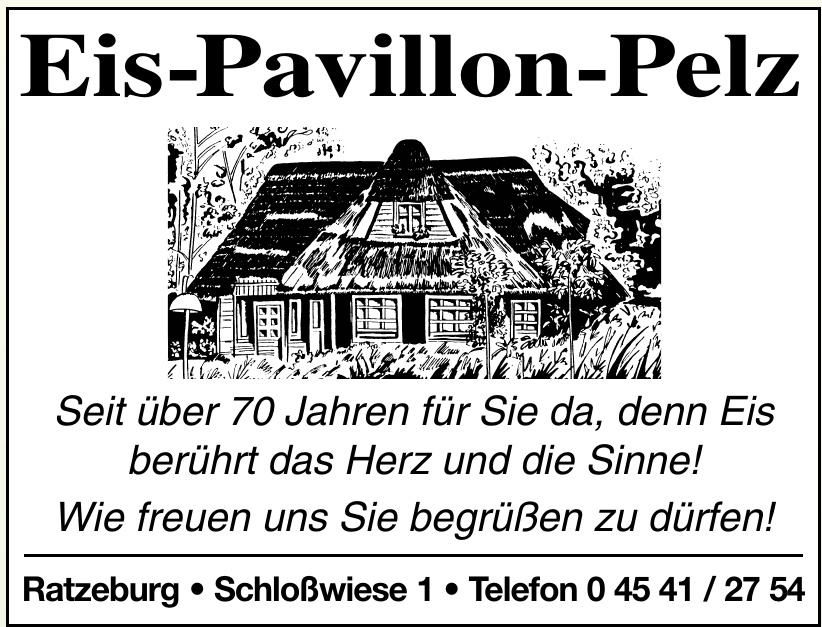 Eis-Pavillon-Pelz
