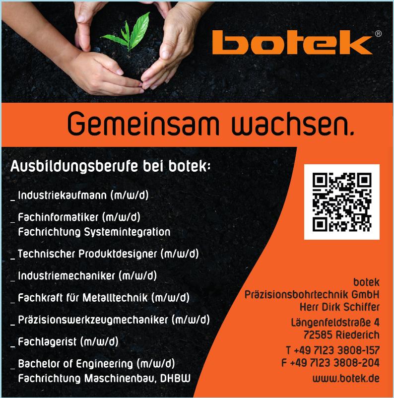 Botek Präzisionsbohrtechnik GmbH