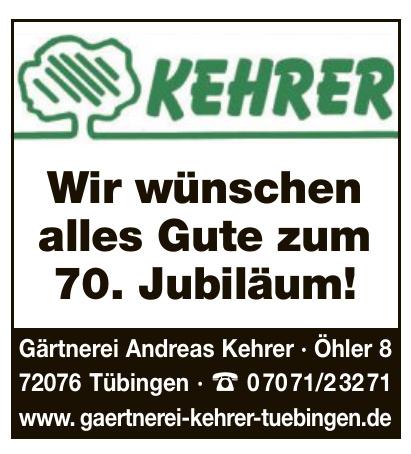Gärtnerei Kehrer Tübingen