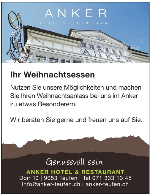 Anker Hotel & Restaurant