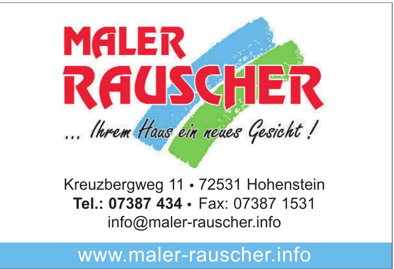 Maler Rauscher