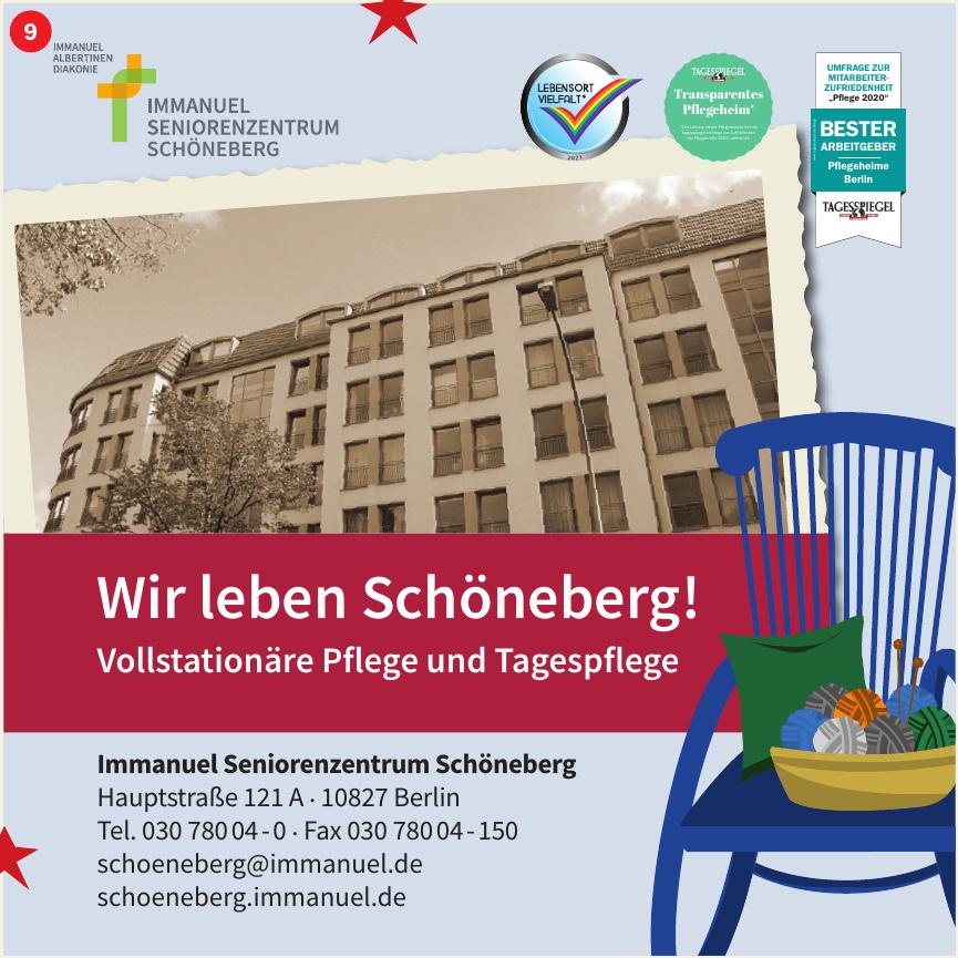 Immanuel Seniorenzentrum Schöneberg