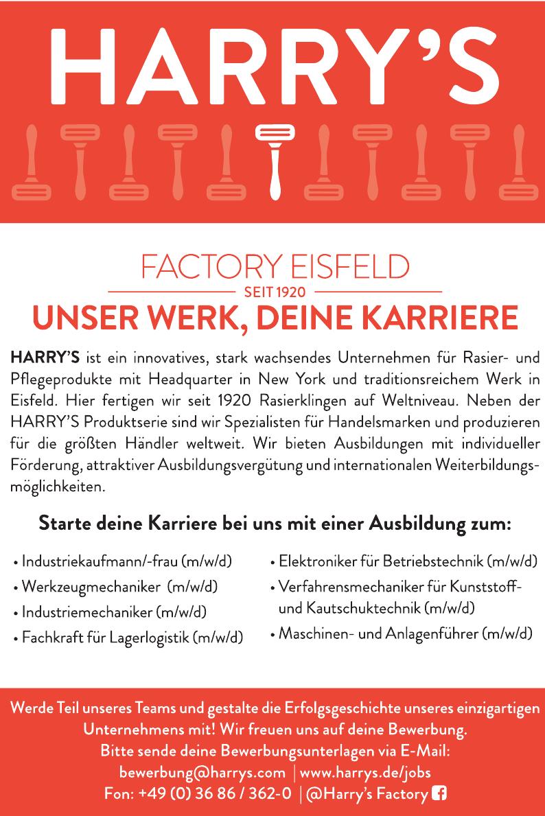 Harry´S Feintechnik GmbH