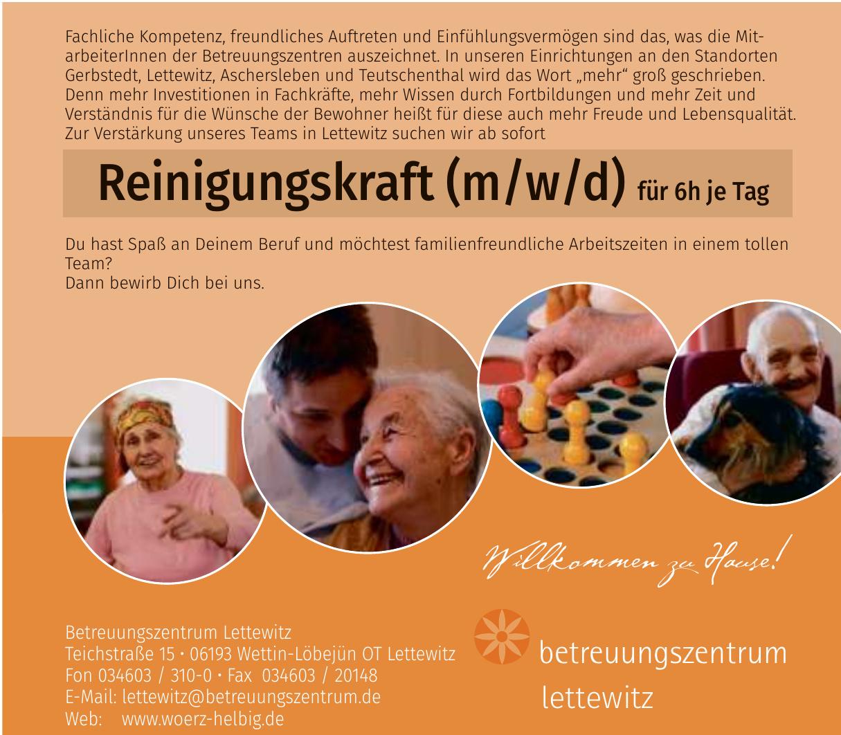 Betreuungszentrum Lettewitz