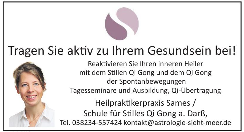 Heilpraktikerpraxis Sames / Schule für Stilles Qi Gong a. Darß