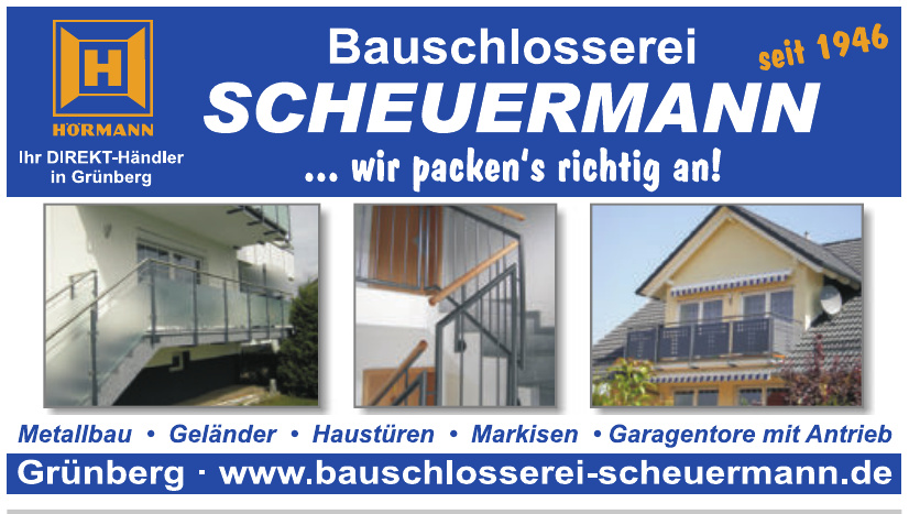 Bauschlosserei Scheuermann