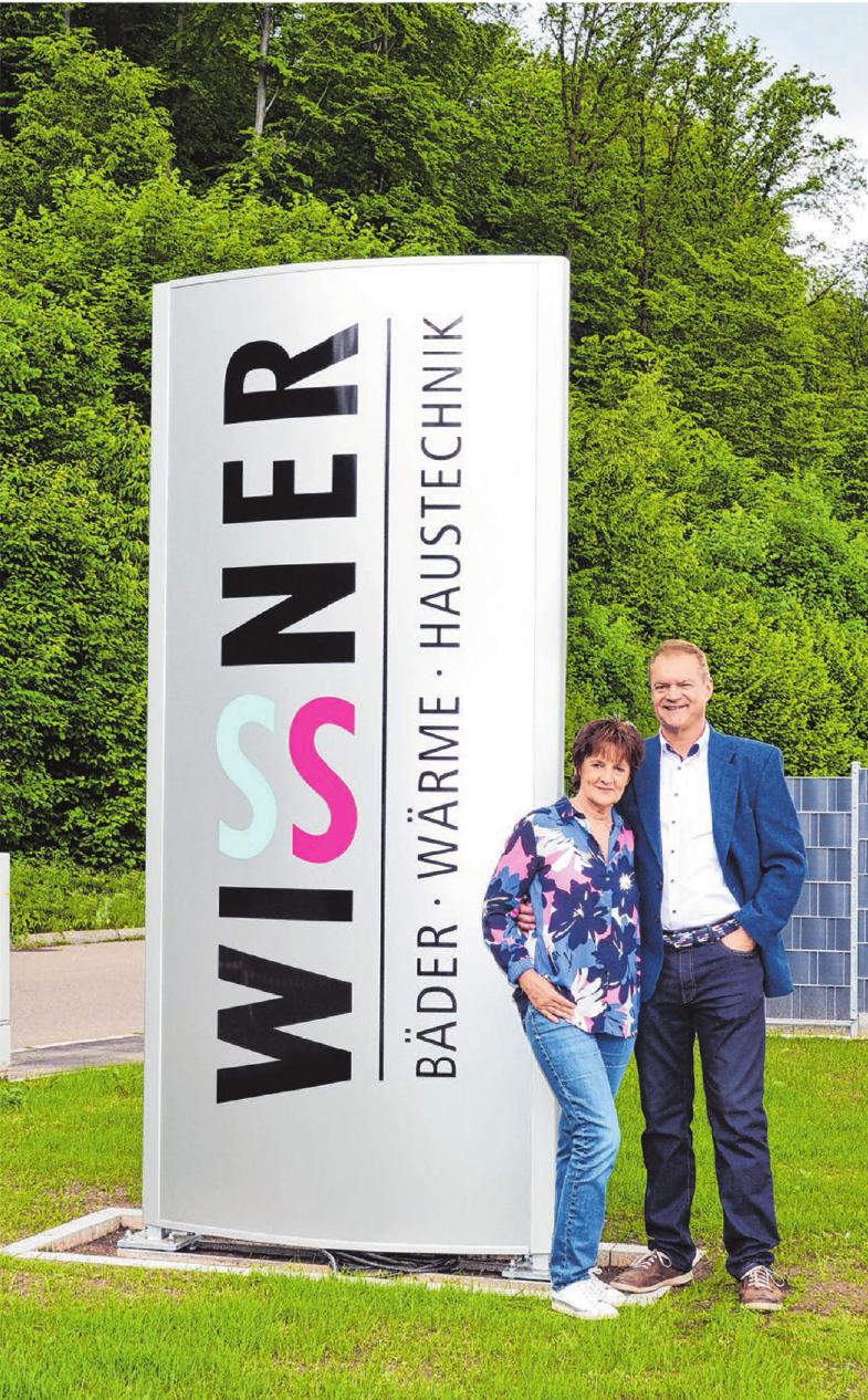 Jürgen und Ursula Wissner.