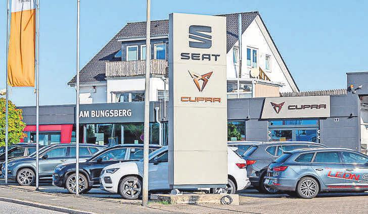 Das Autohaus in Eutin mit der Marke Seat.