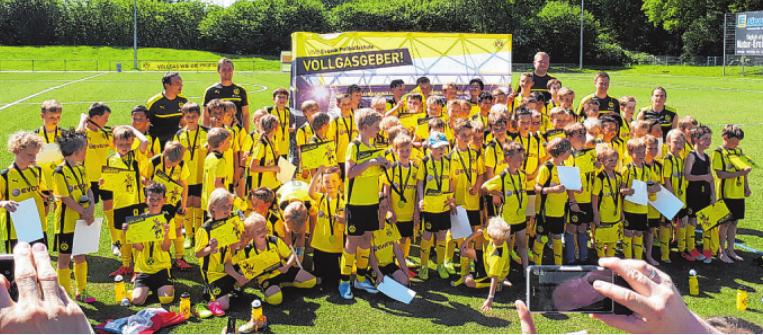 LSV Kids beim Fußball Camp des BVB09