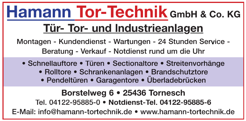 Hamann Tor-Technik GmbH & Co. KG