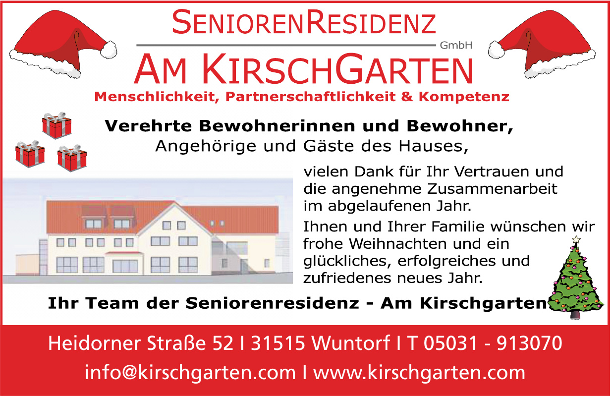 Senioren Residenz Am KirschGarten GmbH