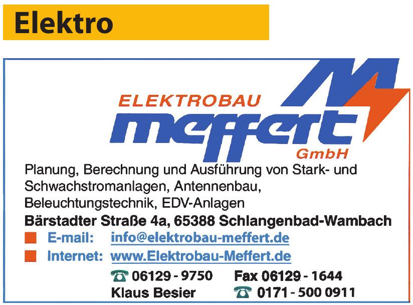 Elektrobau Meffert GmbH