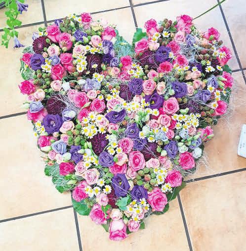Passiflora gestaltet Blumenarrangements, die von Herzen kommen.