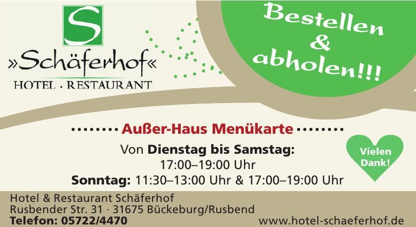 Hotel - Restaurant Schöferhof