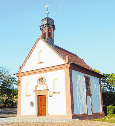 Die Anna-Kapelle bei Stettfeld. FOTO: M. EGGLSEDER