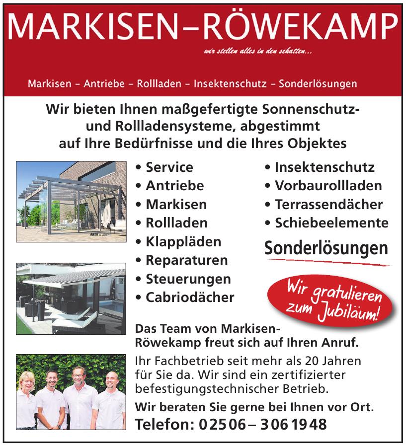 Markisen-Röwekamp