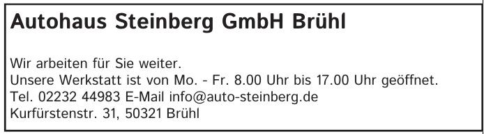 Autohaus Steinberg GmbH