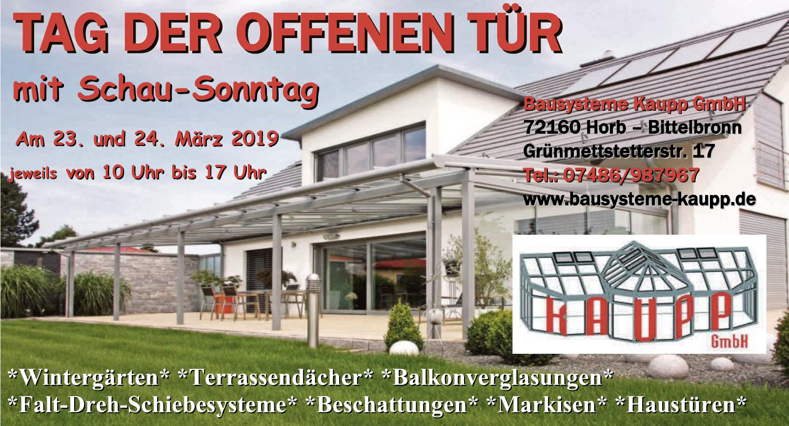 Bausysteme Kaupp GmbH