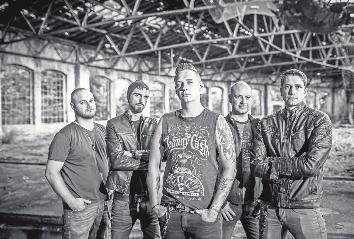 Die Volbeat-Tribute-Band Still Counting sind der Hauptact der Rocknacht.