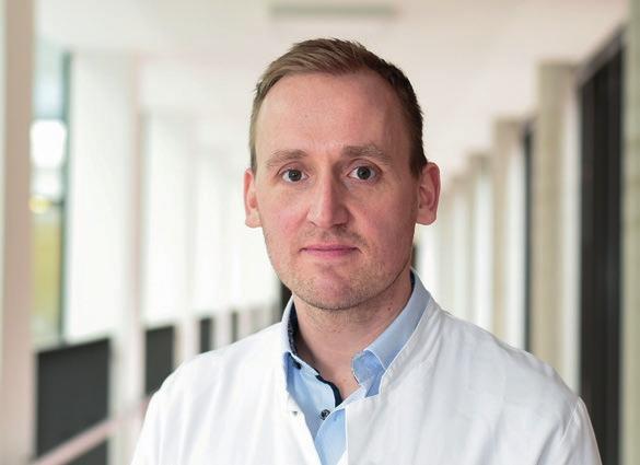 PD. Dr. med. Till Burkhardt, Chefarzt der Neurochirurgie am FEK. FOTO: GESCHÄFTSFOTOS