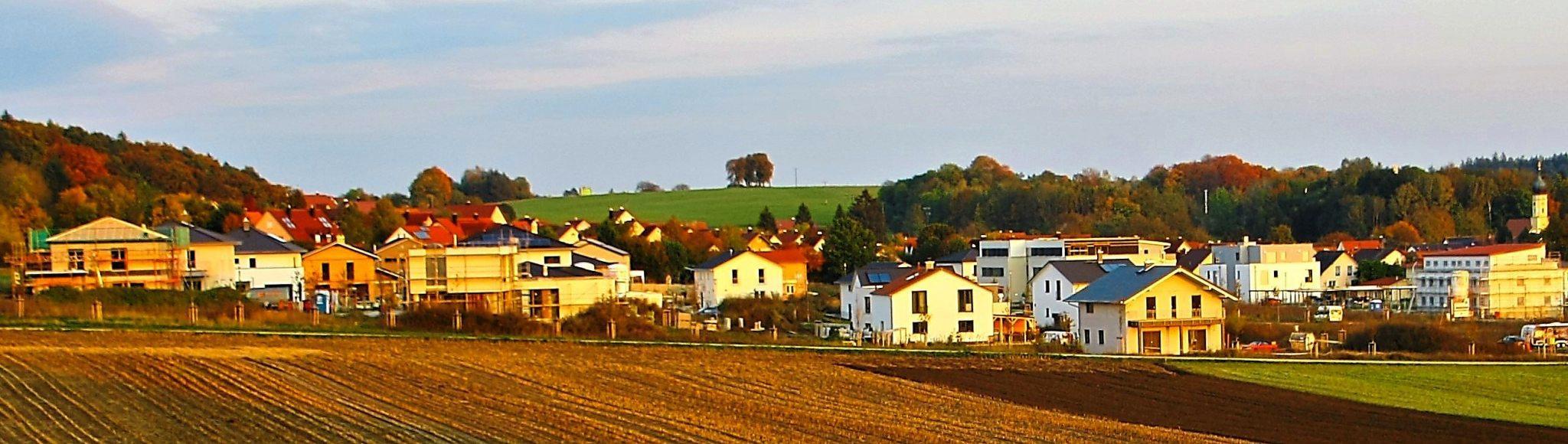 Stetiges Wachstum: Das Neubaugebiet Hülläcker im Ortsteil Unterhausen ist bei jungen Familien beliebt. Fotos: Hamp
