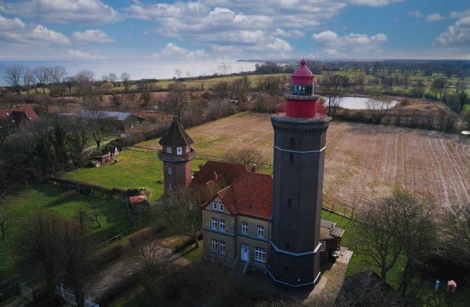 Der Leuchtturm Dahmeshöved – Schleswig-Holstein hat viel zu bieten. Fotos: www.ostsee-schleswig-holstein.de
