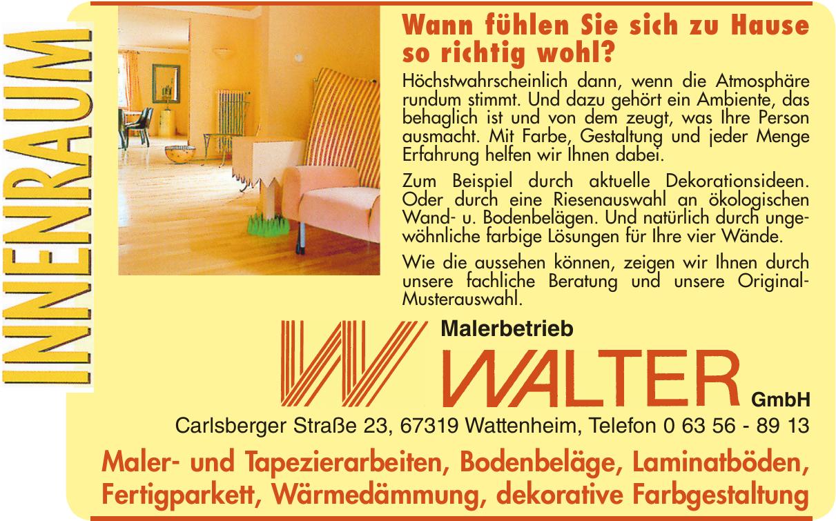 Malerbetrieb Walter GmbH