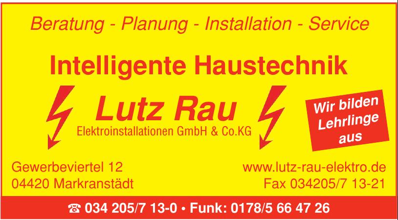 Lutz Rau Elektroinstallationen GmbH & CO. KG