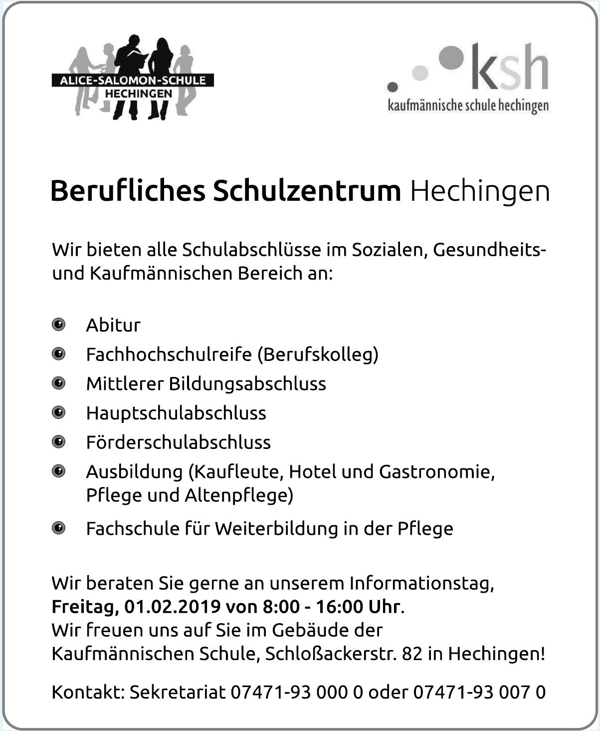 KSH Kaufmännische Schule Hechingen