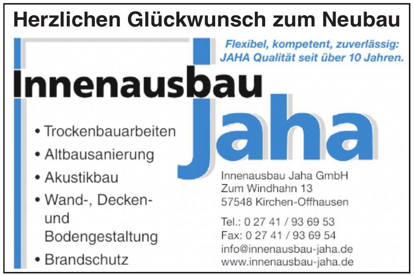 Innenausbau Jaha GmbH