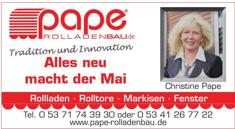 pape Rolladenbau.de