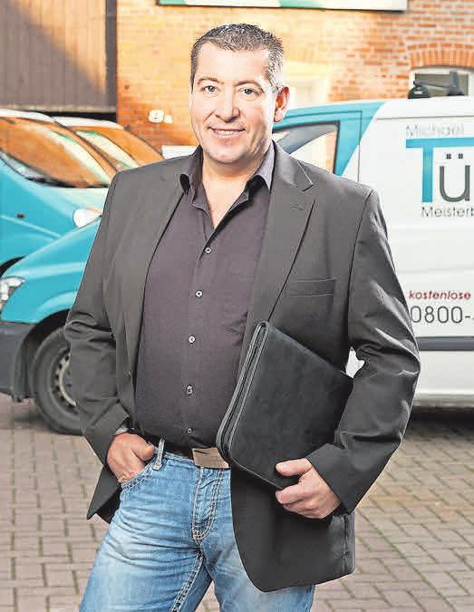 Michael Türk ist ein Pionier im Bereich energiesparende Heizsysteme.