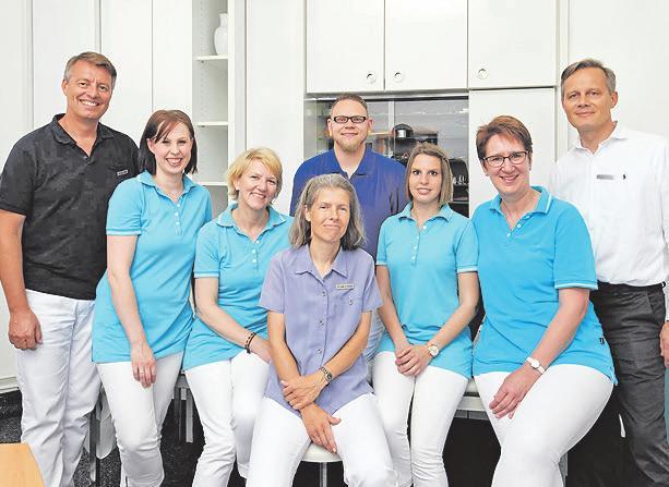 Team Goethestraße (Aufnahme vor COVID-19 Pandemie)