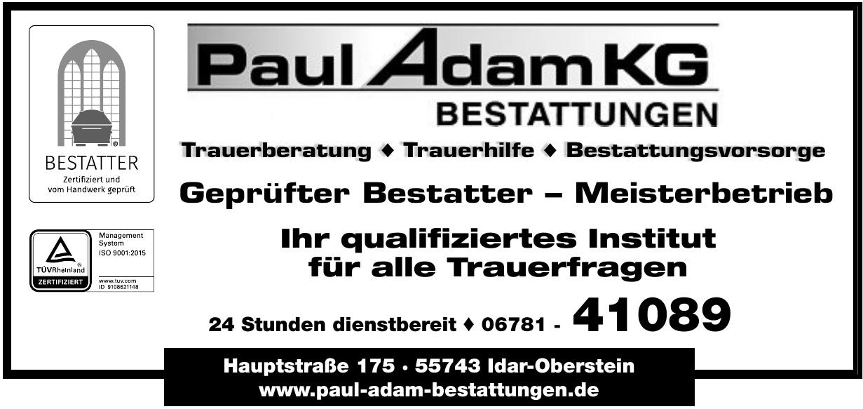 Bestattungsinstitut Paul Adam KG