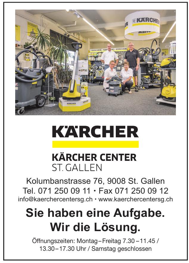 Kärcher Center St. Gallen