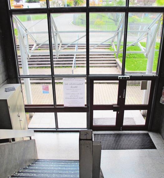 Die Halle soll barrierefrei zugänglich werden.