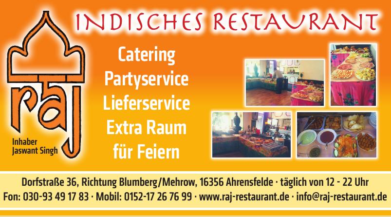 RAJ Indisches Restaurant