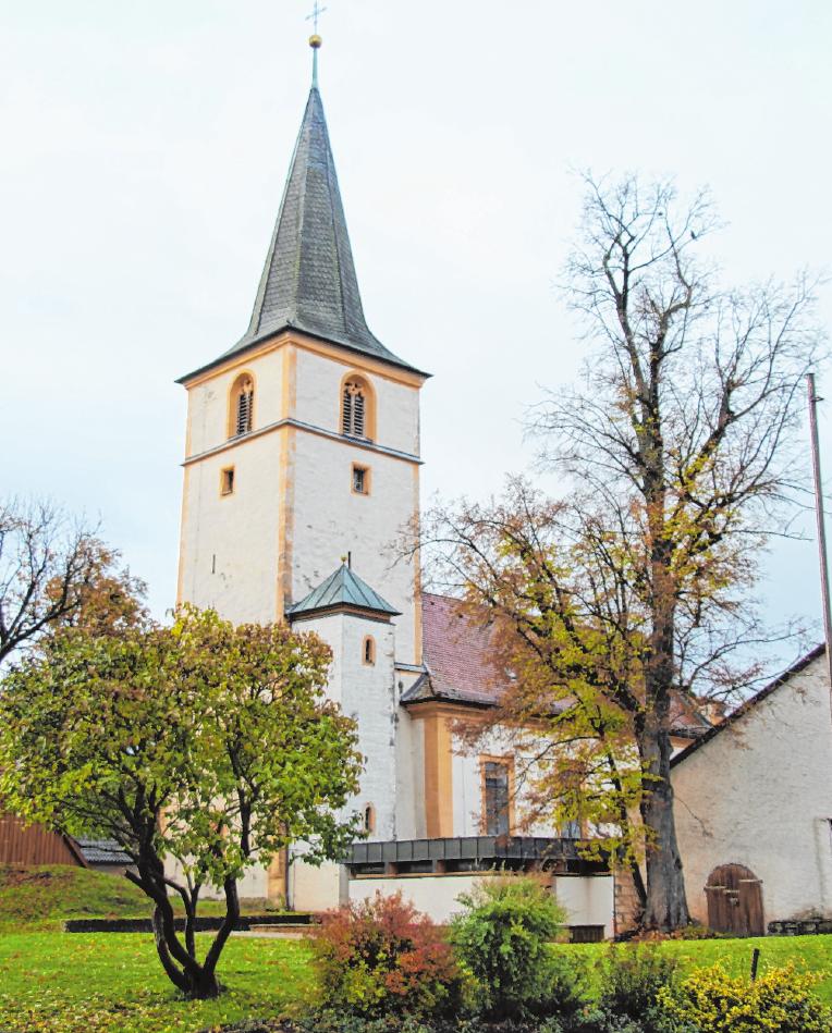 Der ältere Teil der Kirche St. Peter und Paul. FOTO: G. KLOPF