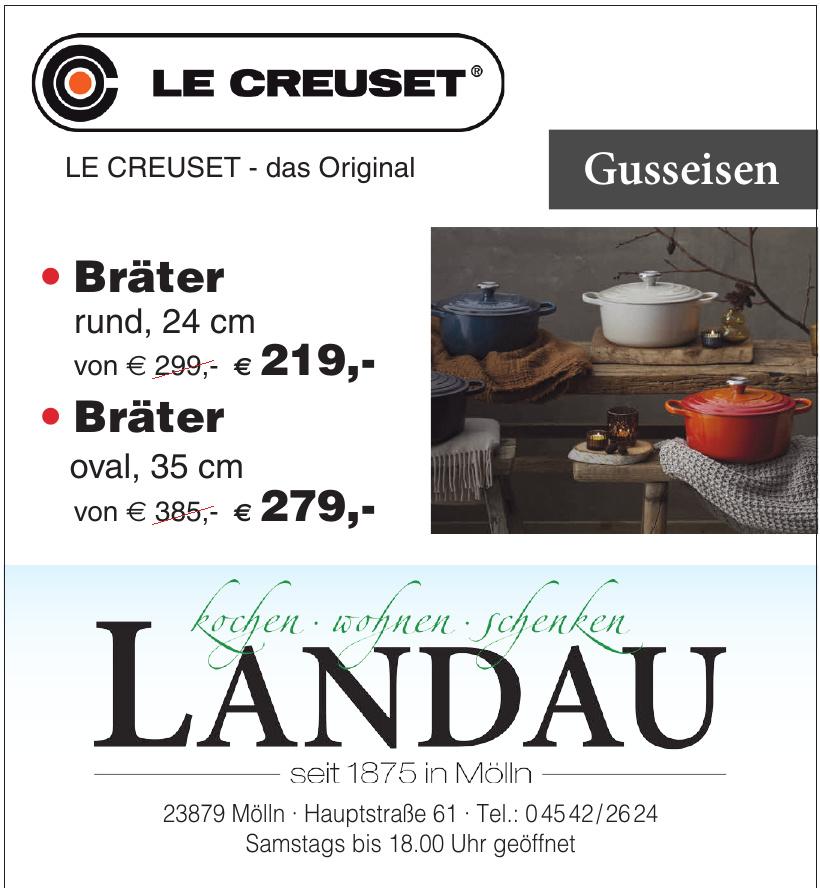 Landau kochen, wohnen, schenken
